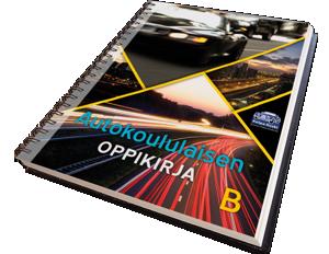Autokoulun painettu oppikirja